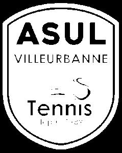 logo ASUL Tennis - Depuis 1989 - whit