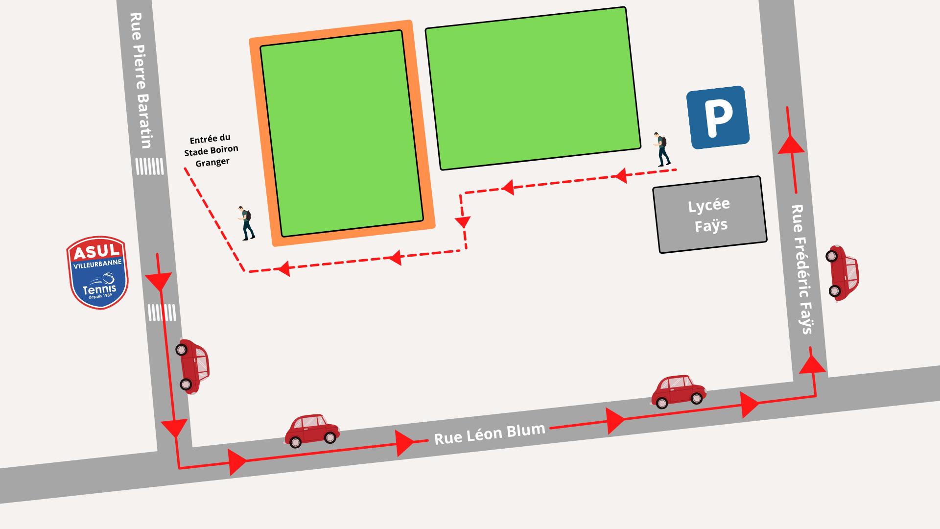Plan de stationnement - travaux ASUL tennis (1)